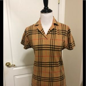 Burberry Golf top great conditions